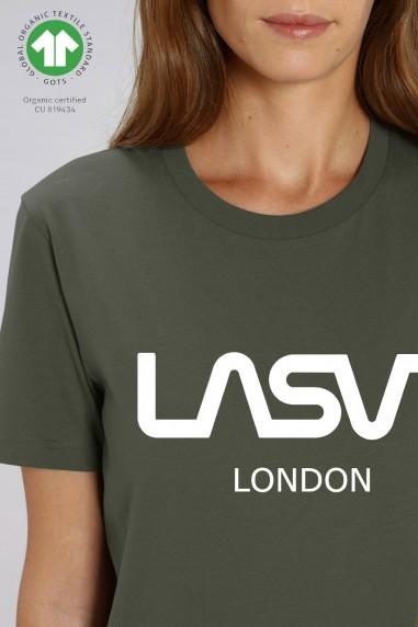 Camiseta de mujer ORGANIC LONDON Kaki