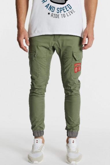 Pantalón de hombre JOGGER CARGO Kaki