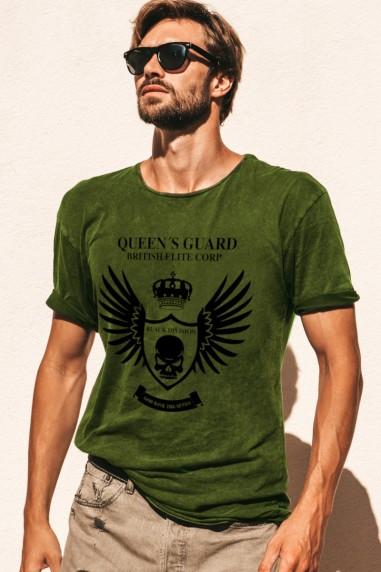 Camiseta de hombre GUARD LONDON Kaki