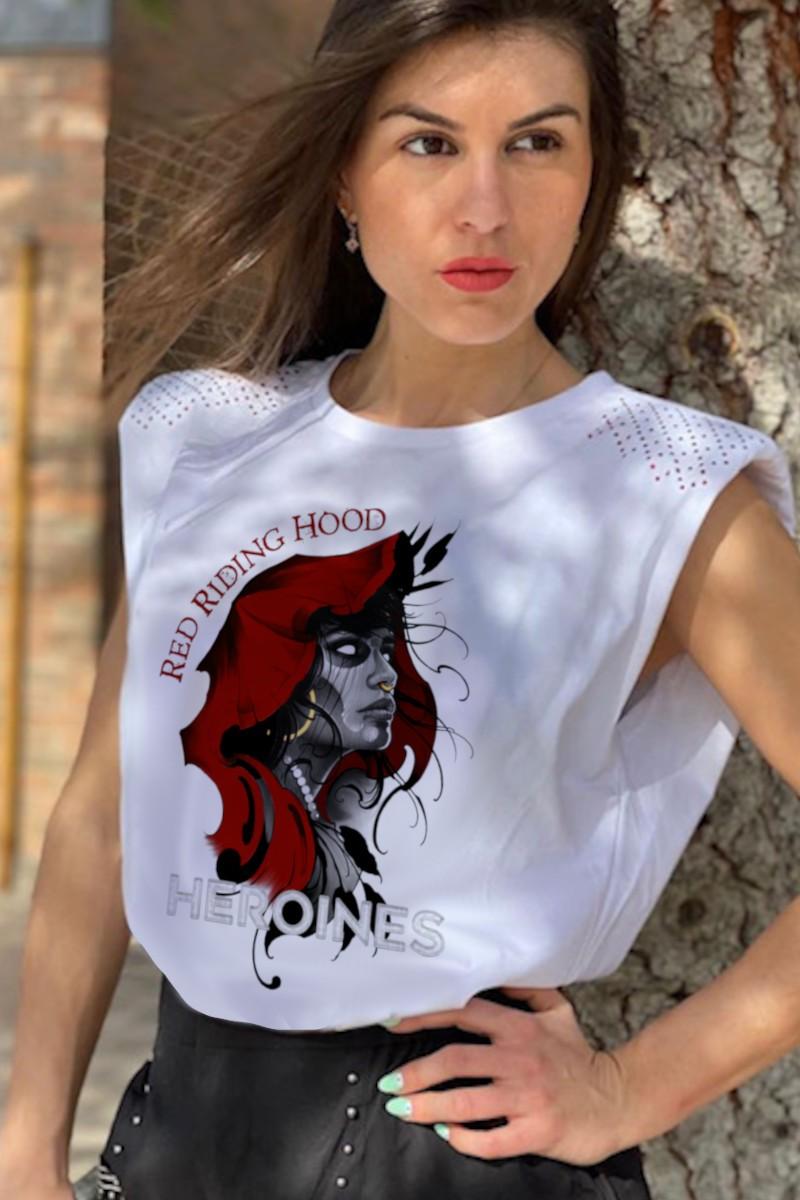 Camiseta de mujer HOOD...