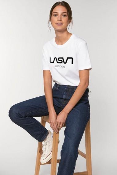 Camiseta de mujer ORGANIC LONDON Blanca