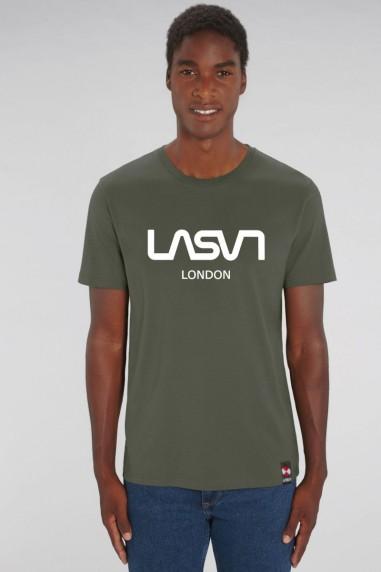 Camiseta de hombre ORGANIC LONDON Kaki