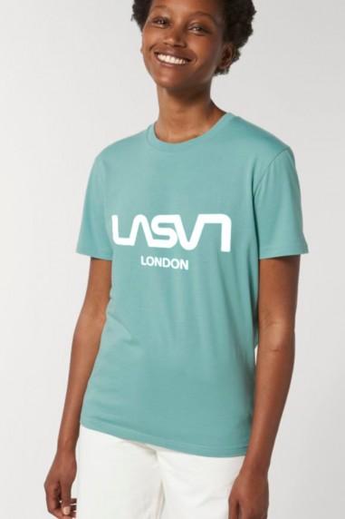 Camiseta de mujer ORGANIC LONDON GreBlú