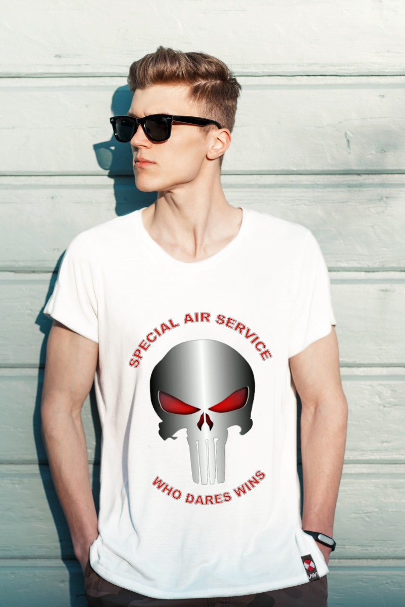 Camiseta de hombre PUNISHER...