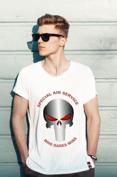 Camiseta de hombre PUNISHER Blanca