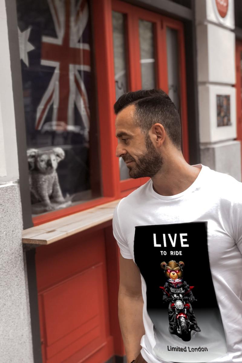 Camiseta de hombre LIVE...