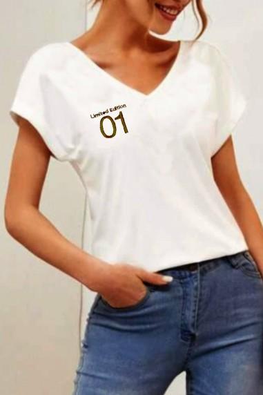 Camiseta de mujer GUARD TWO Blanca