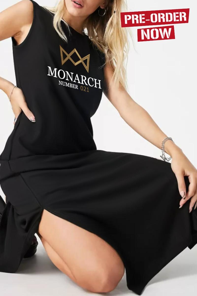 Vestido de mujer MONARCH negro