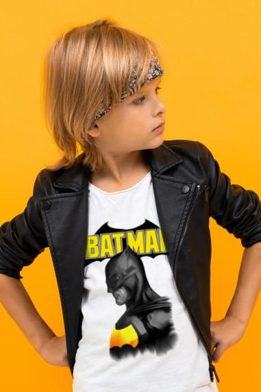 Camiseta de niño Batman color blanco