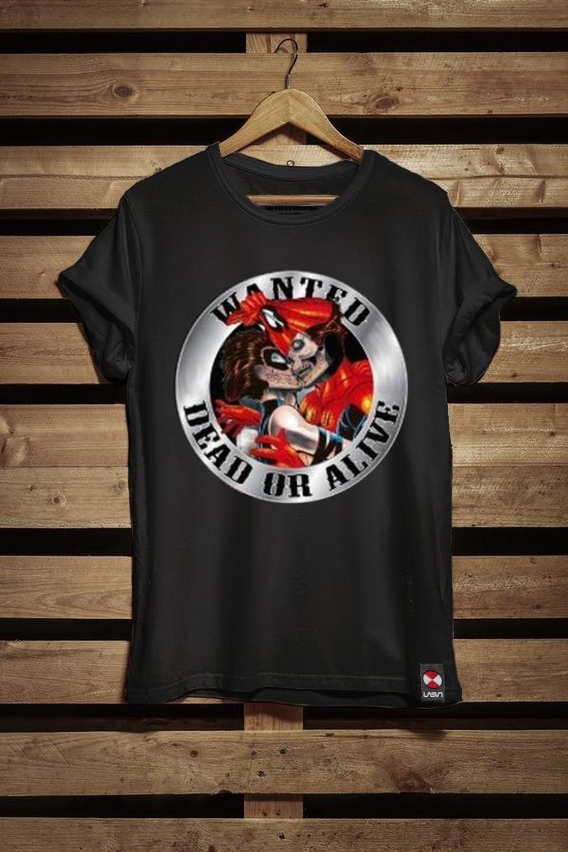 Camiseta de niño Spider negro