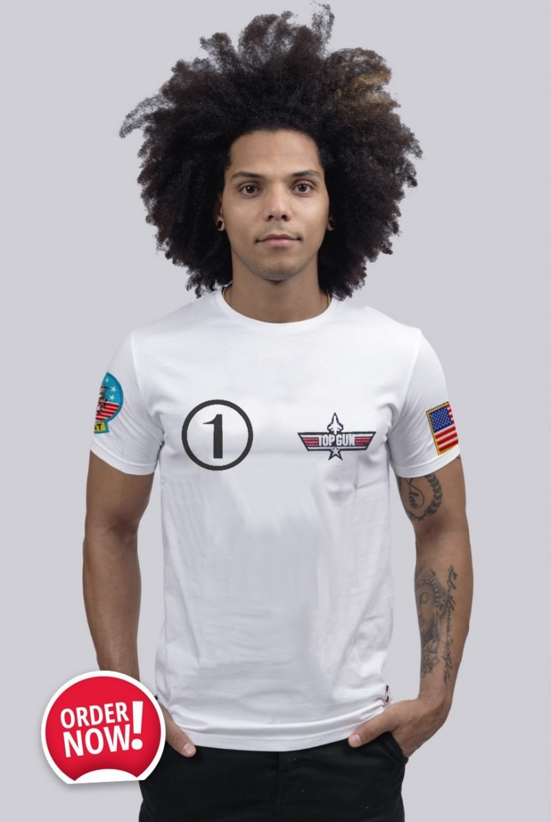 Camiseta Unisex Top Gun Iceman