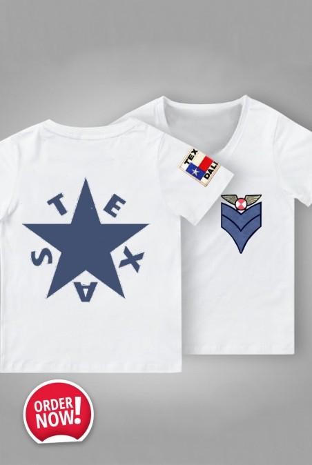 Camiseta Mujer Básica Texas Blanca