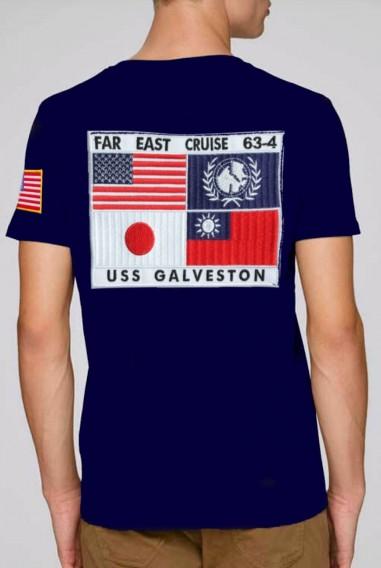 Camiseta Hombre Top Gun San Diego Marino