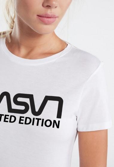 Camiseta Mujer Fit Lasal blanca