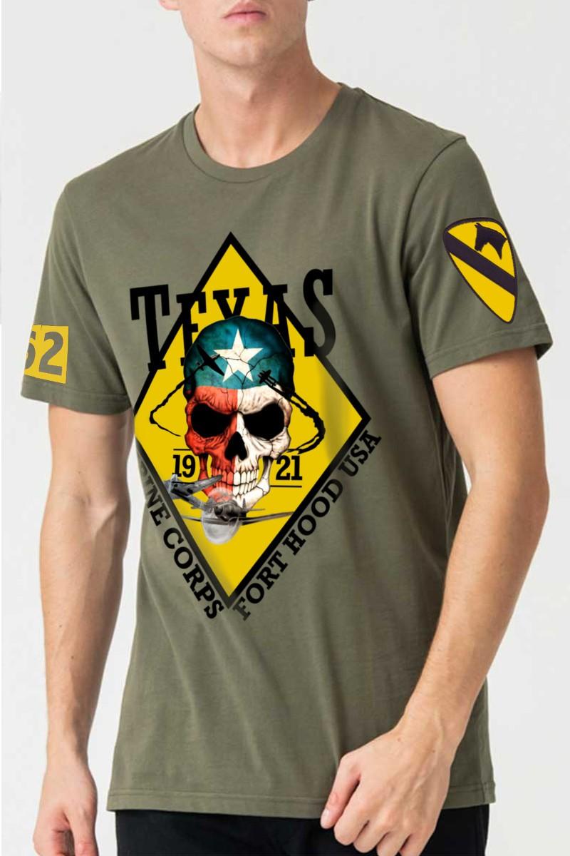 Camiseta hombre basic Texas...