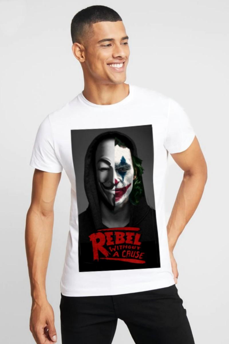 Camiseta Rebels Jocker blanca