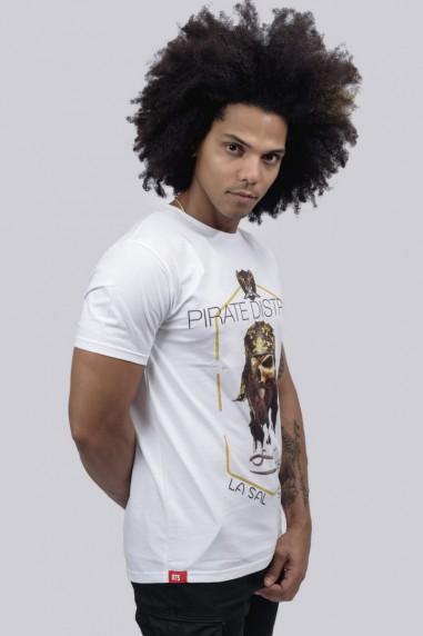 Camiseta Hombre Basic Pirate blanca
