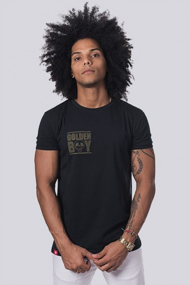 Camiseta Hombre Line Golden Boy