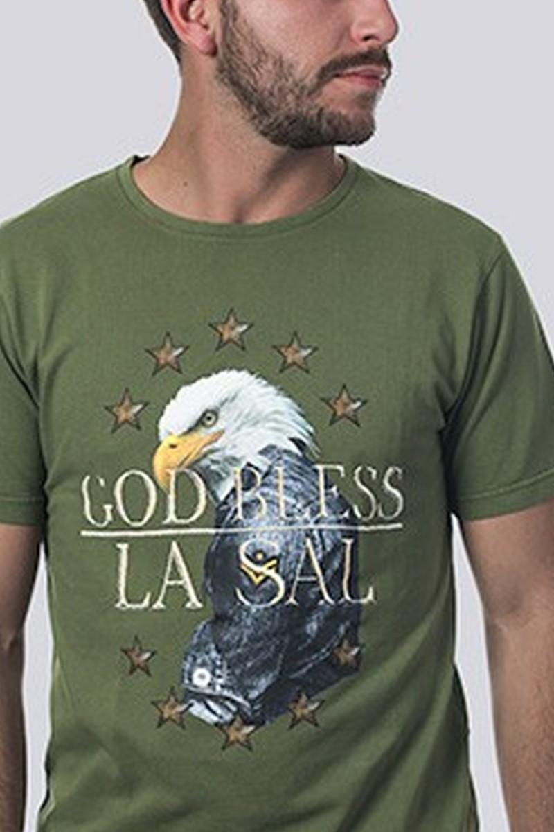 Camiseta Hombre Pique God...
