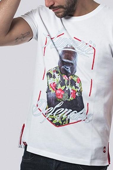 Camiseta Hombre Piqué Hawaii color...