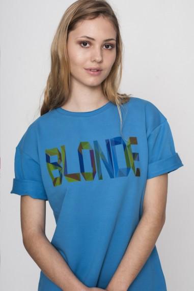 Vestido sudadera Mujer Blonde Azul