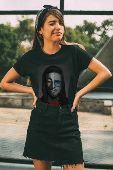 Camiseta Rebels Stark negra
