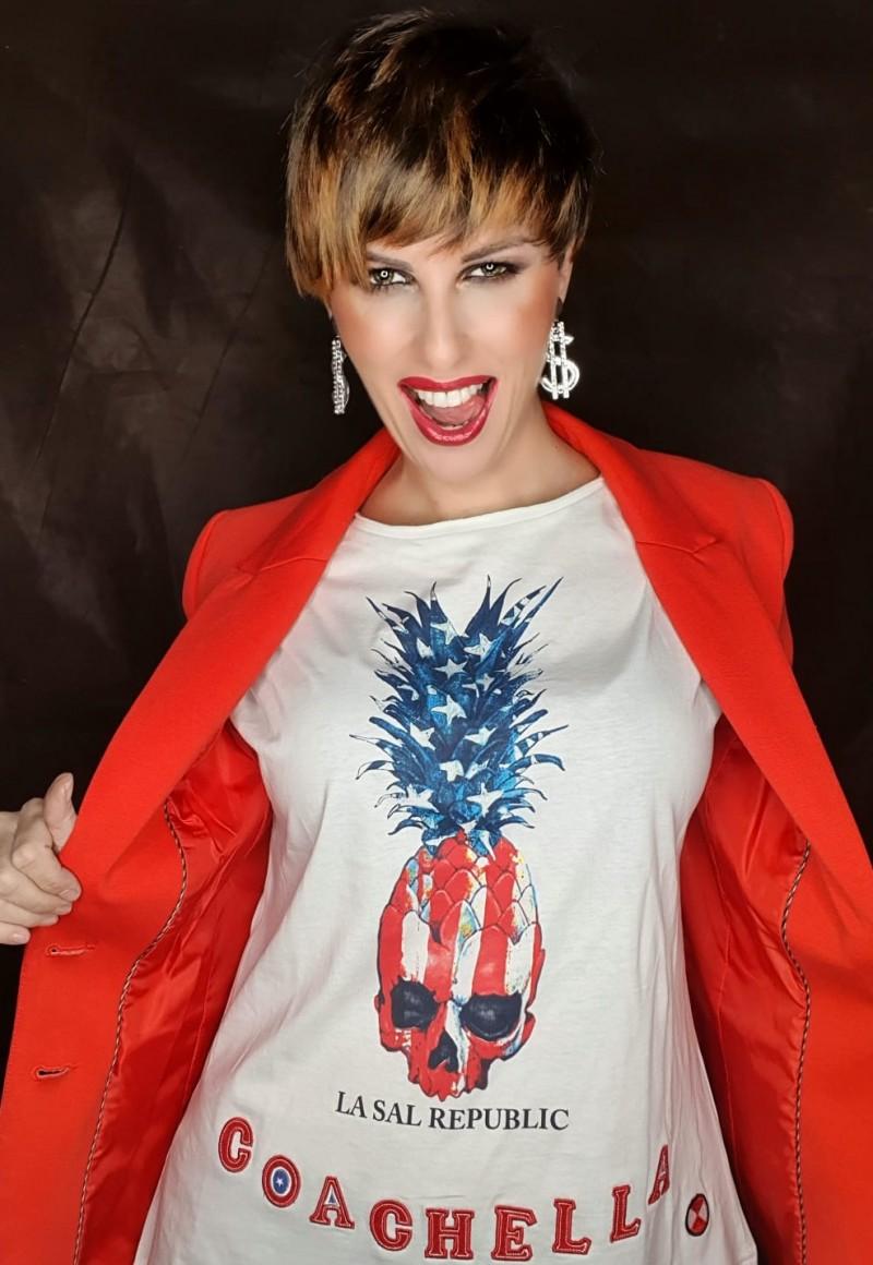 Camiseta Mujer Air...