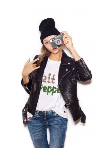 Camiseta Mujer Air Salt & Pepper