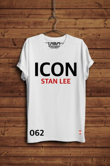 Camiseta ICON Talla- Large color blanco