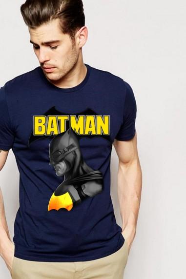Camiseta unisex Batman color Marino