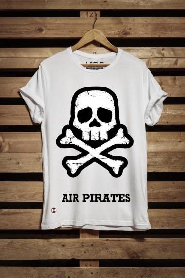 Camiseta de hombre Pirates color blanco