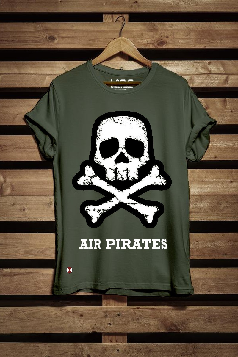Camiseta unisex Pirates...