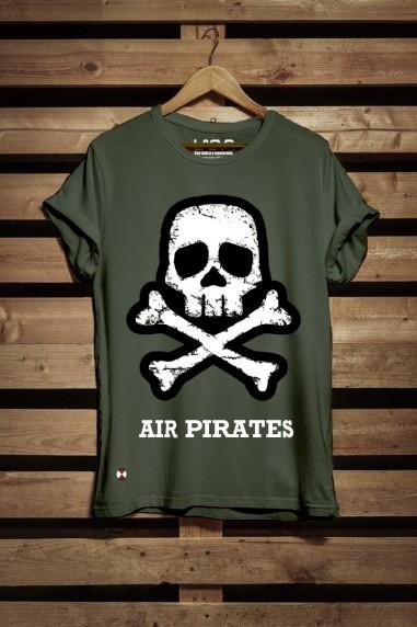 Camiseta hombre Pirates color kaki