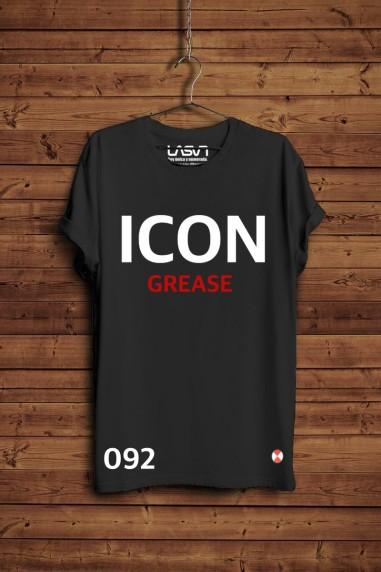 Camiseta ICON Talla -Medium color negro