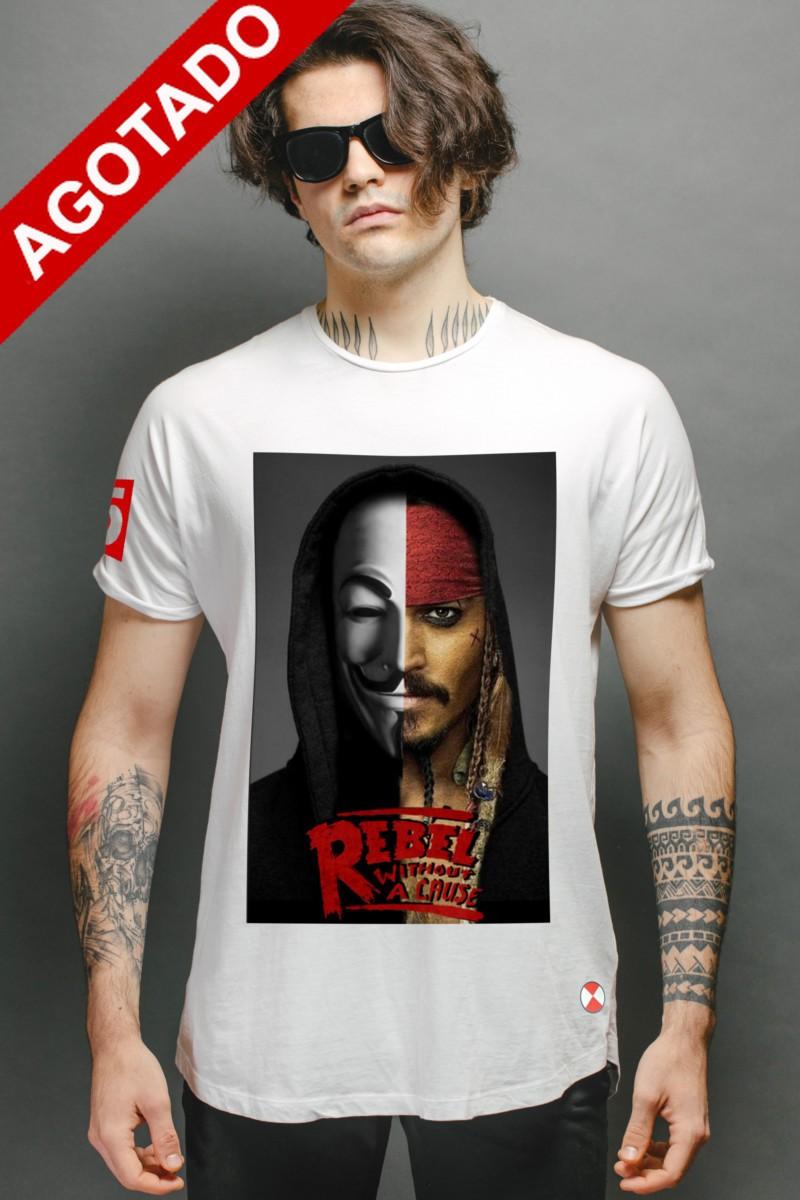 Camiseta  Rebels Jack color...