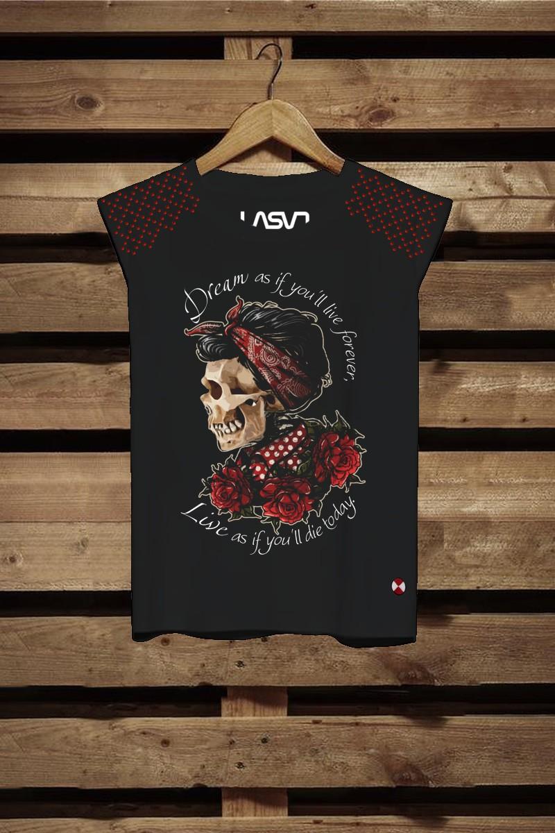 Camiseta de mujer Dreams Negra