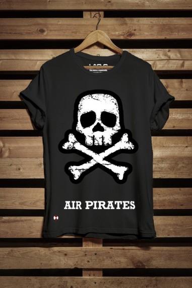 Camiseta de mujer Pirates color negro
