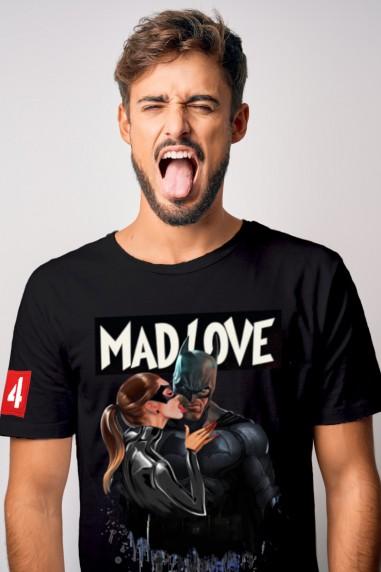 Camiseta de hombre MAD LOVE negra