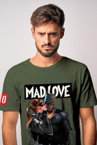 Camiseta de hombre MADLOVE kaki