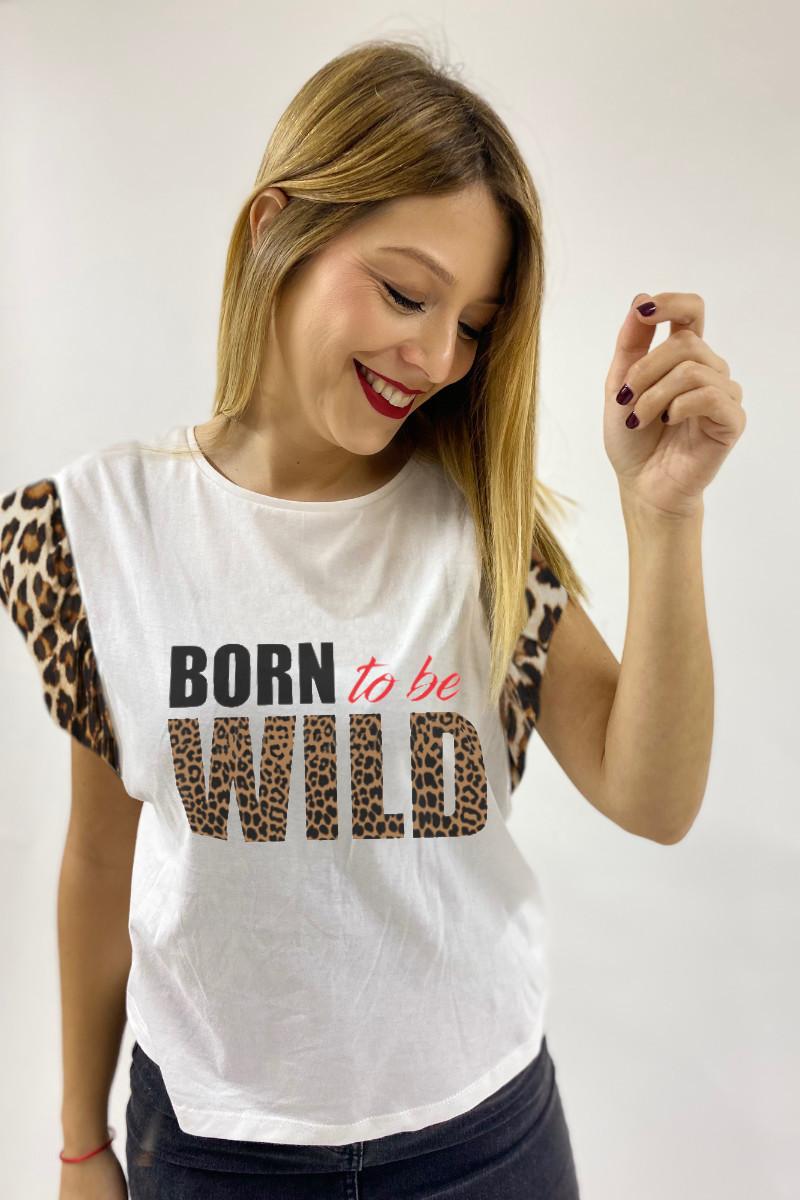 Camiseta de mujer BORN...
