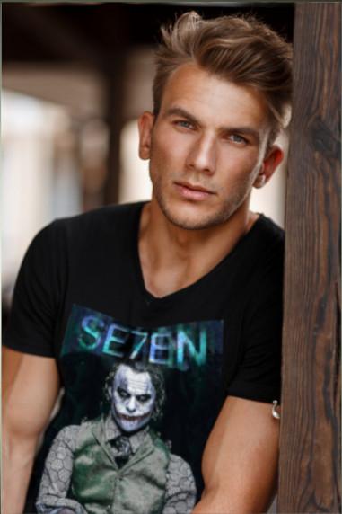 Camiseta de hombre SEVEN PEREZA Negra