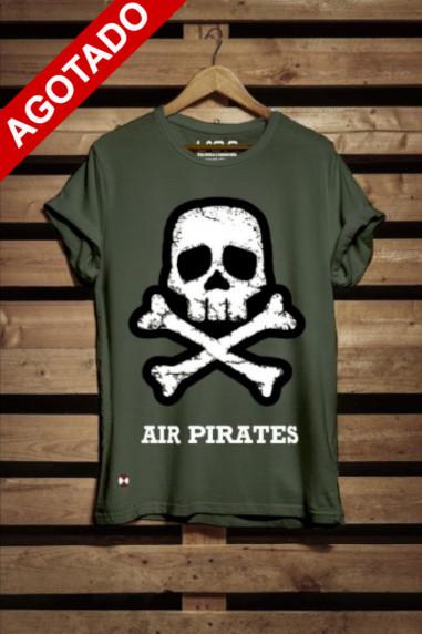 Camiseta de hombre Pirates color kaki
