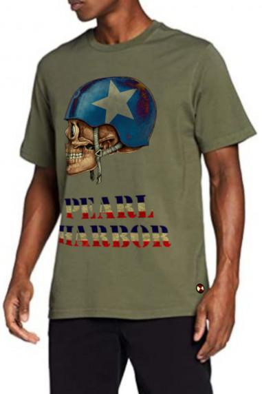 Camiseta de hombre WAR HARBOUR Kaki
