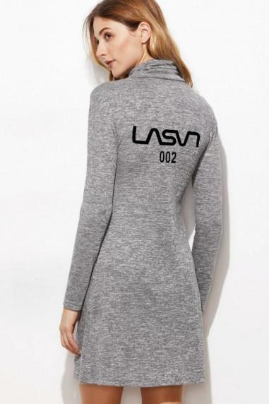 Vestido de mujer LaSaL Gris mezcla