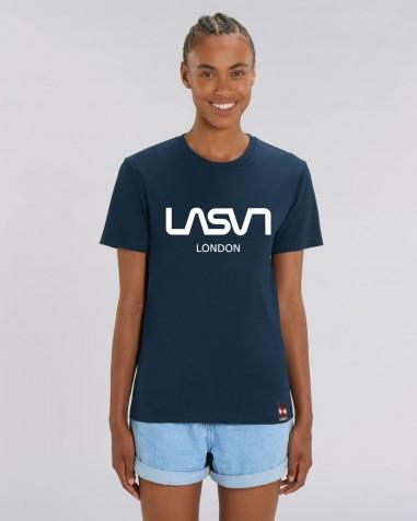 Camiseta de mujer ORGANIC LONDON Marino