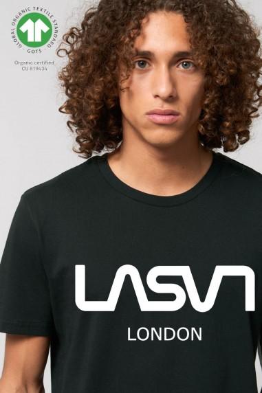 Camiseta de hombre ORGANIC LONDON Negra